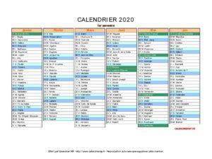 Calendrier 2020 Vacances Scolaires Reunion