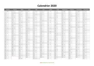 Calendrier Lunaire 2020 PDF