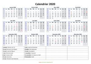 Maroc Calendrier Scolaire 2020