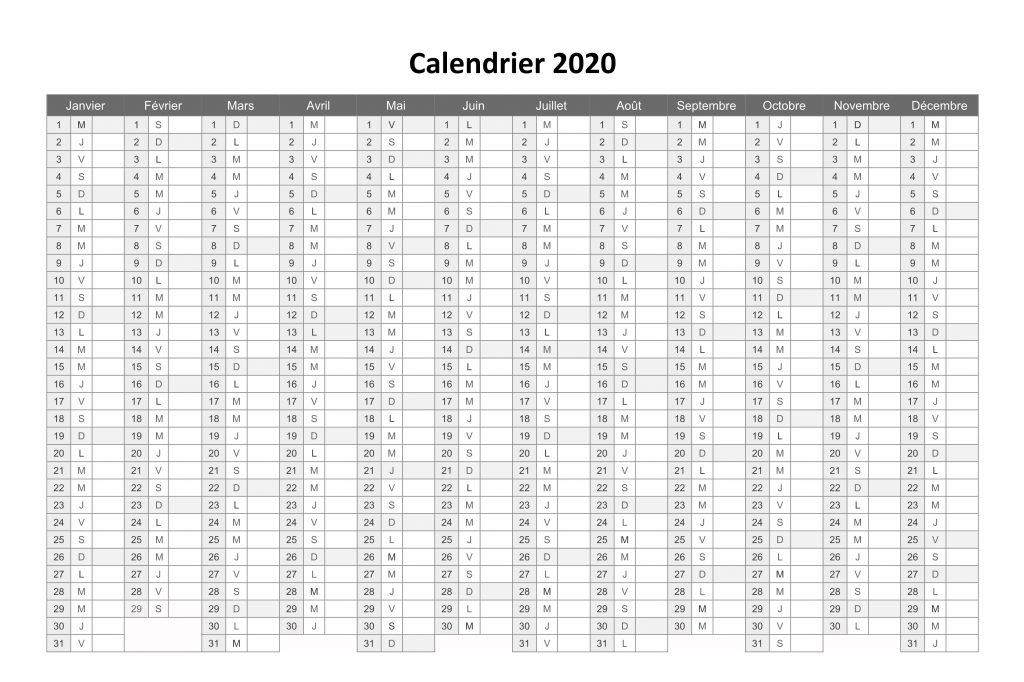2020 Calendrier Des Saints Bretons