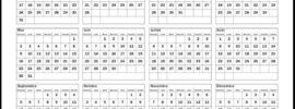 Calendrier 2021 Excel Modifiable Gratuit