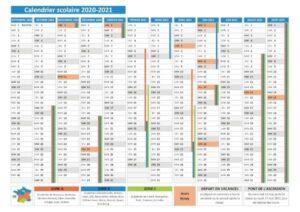 Calendrier 2021 Vacances Scolaires Belgique
