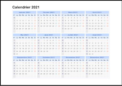 Maroc 2021 Calendrier Scolaire